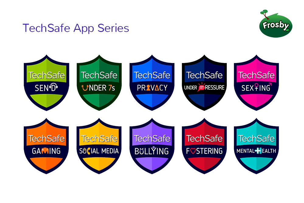 techsafe app icons online safety advice frosby
