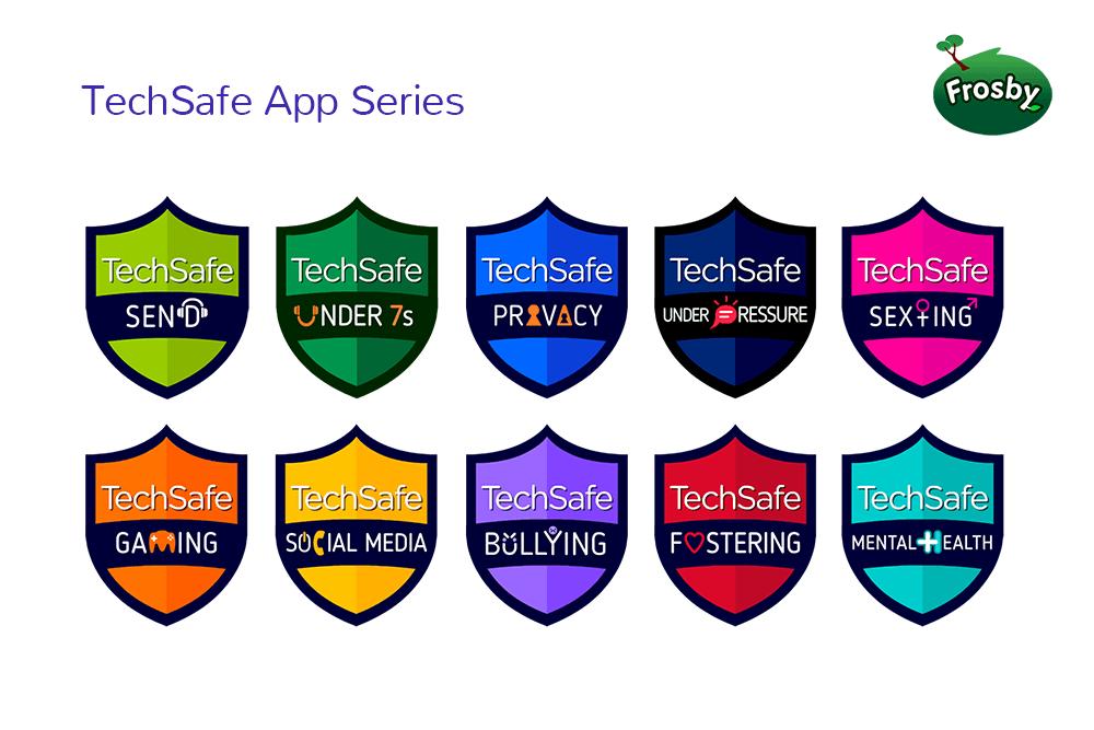 techsafe-app-icons-online-safety-advice-frosby-uk-kids-app-developer
