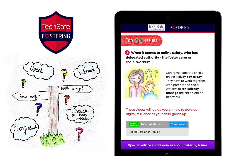 techsafe foster carers app