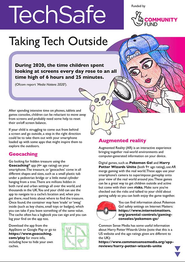 techsafe leaflet online safety tech
