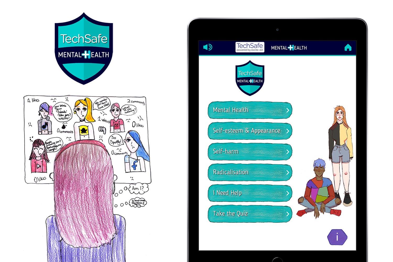techsafe mental health app