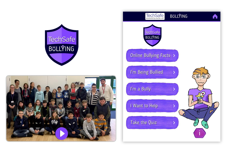 techsafe online bullying cyberbullying app