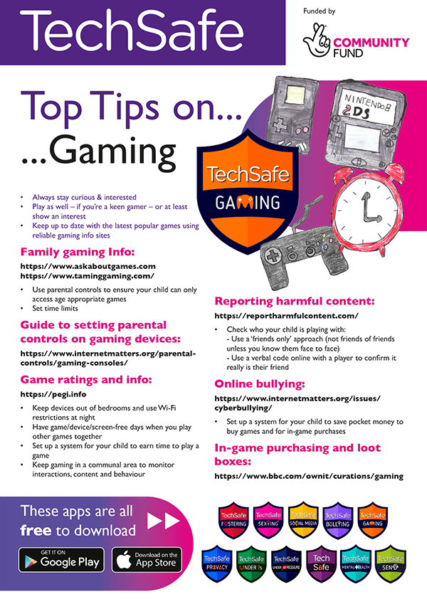 techsafe gaming tips guide