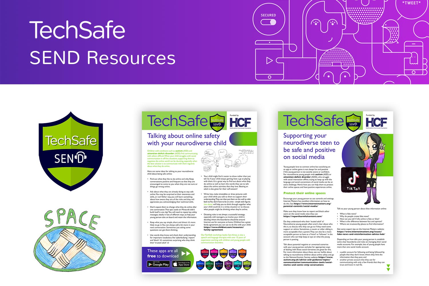 techsafe news send resources